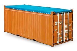 20-ти футовый контейнер с открытым верхом (Open top)