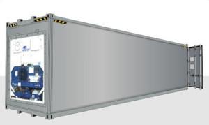 40 футовый рефрижераторный контейнер увеличенной вместимости (High Cube)