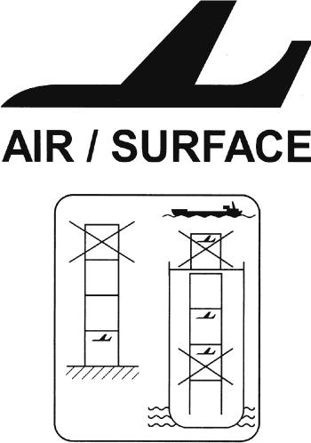 обозначение контейнера для воздушных перевозок