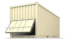 Bulk- Container - BU, BK (Bulk) - контейнеры для перевозки сухих сыпучих грузов