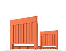 Flatrack - контейнеры-платформы, предназначены для транспортировки негабаритной техники/конструкций