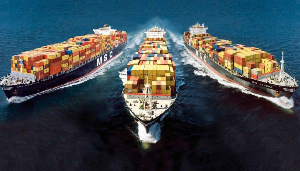 морские контейнерные перевозки из европы