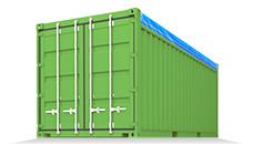 OT (Open Top) - контейнеры с открытой крышей, оборудованные съемным мягким покрытием