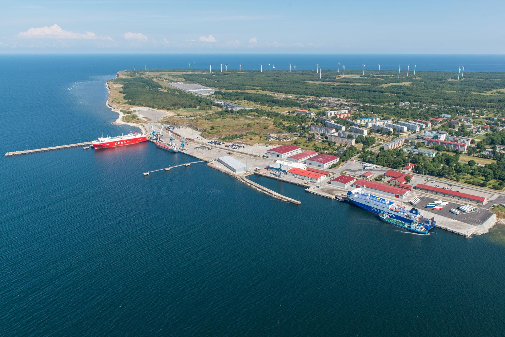 Эстонский порт Палдиски
