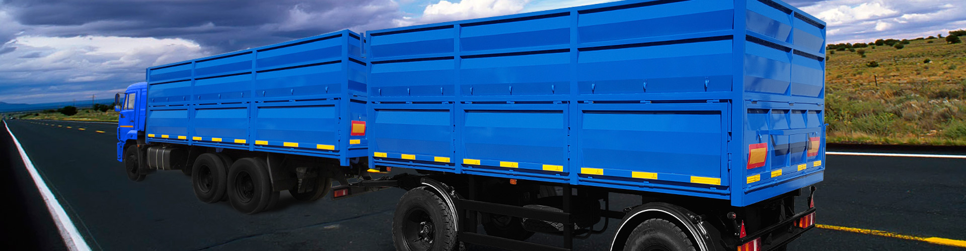 Основные виды прицепов для перевозки грузов