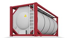 TN, TG, TD (Tank container) - контейнеры- цистерны для перевозки жидкостей и газов