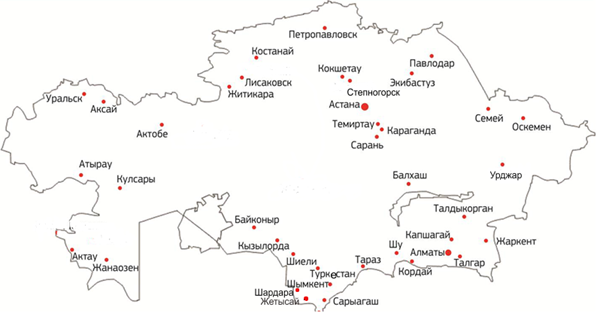 Грузоперевозки - Россия - Казахстан