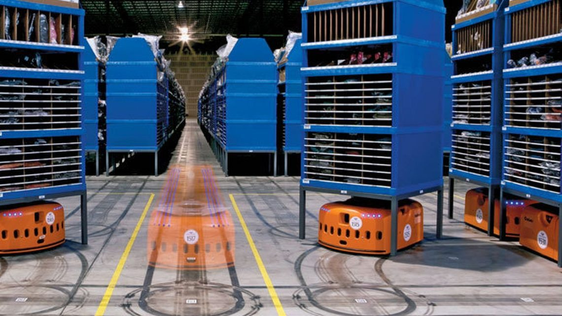 роботизированные склады