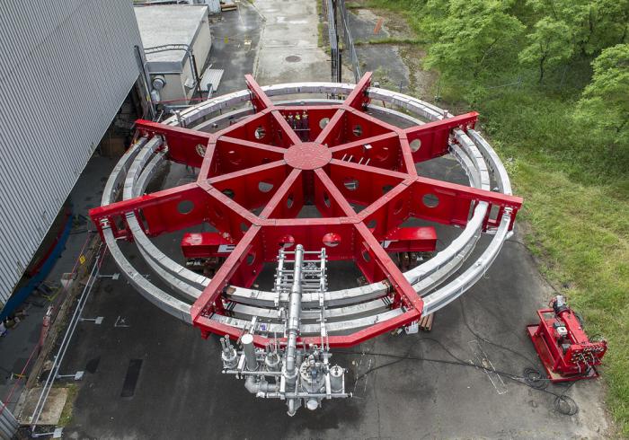 перевозка магнита мюон г-2