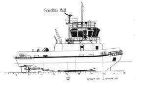 Ледокольный буксир класса «KM Ice 2 R 3 AUT 3 Tug»