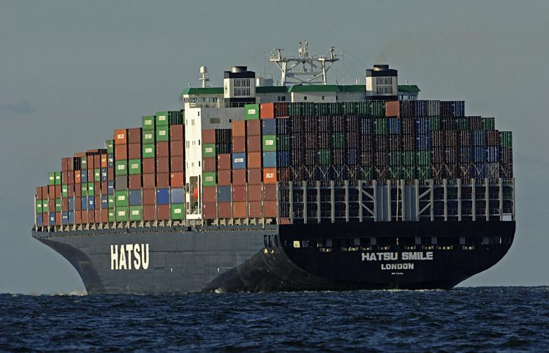 суда контейнеровозы