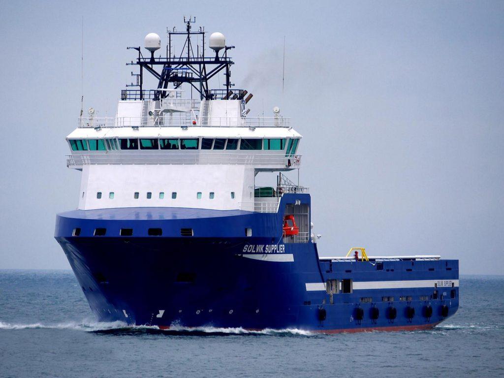 Судно снабжения морских буровых платформ - PSV, проект VS 485 PSV